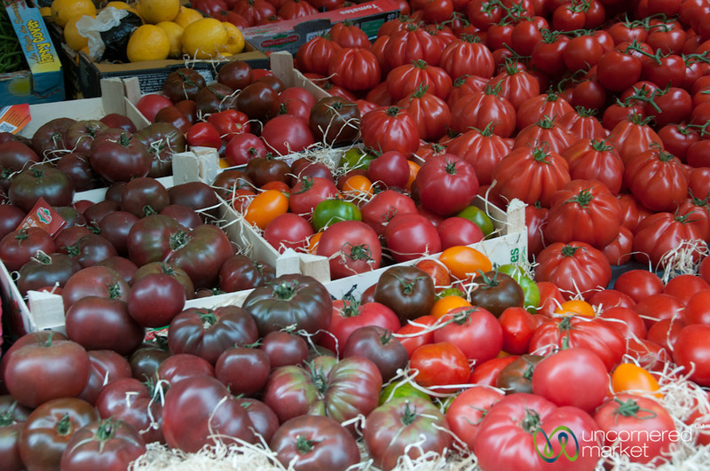 Tomatoes of Every Color and Type - Paris
