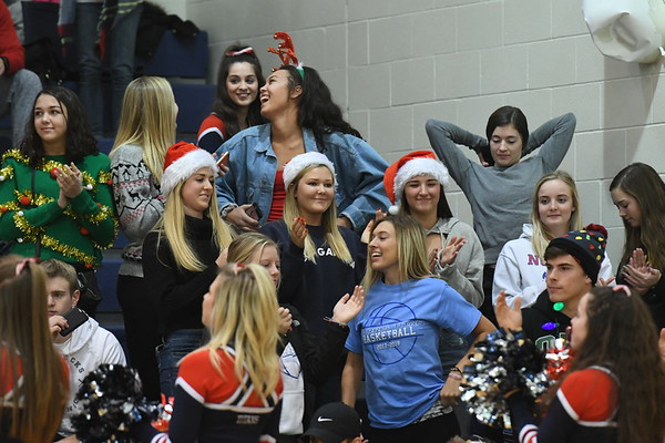 Student Crowd Seward Basketball game