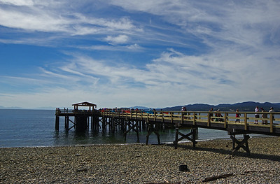 Davis Bay Wharf re-opening 17 July 2014