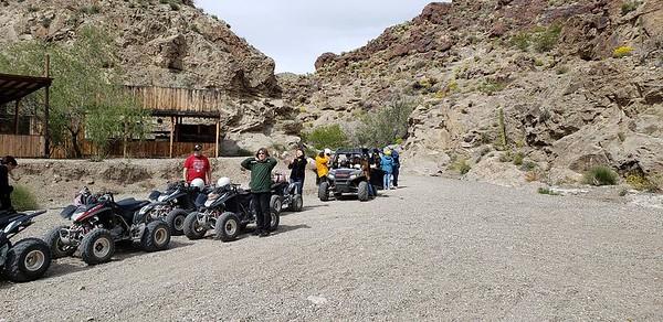 4-16-19 Eldorado Canyon ATV/RZR and Goldmine Tour