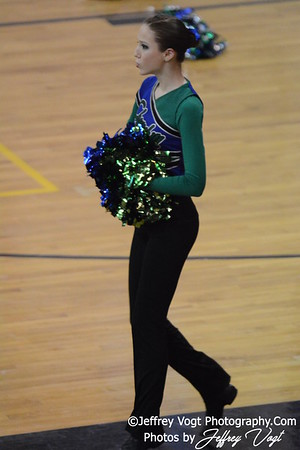 02-01-2014 Churchill HS Poms MCPS County Championship Division 1,  Photos by Jeffrey Vogt Photography & Kyle Hall
