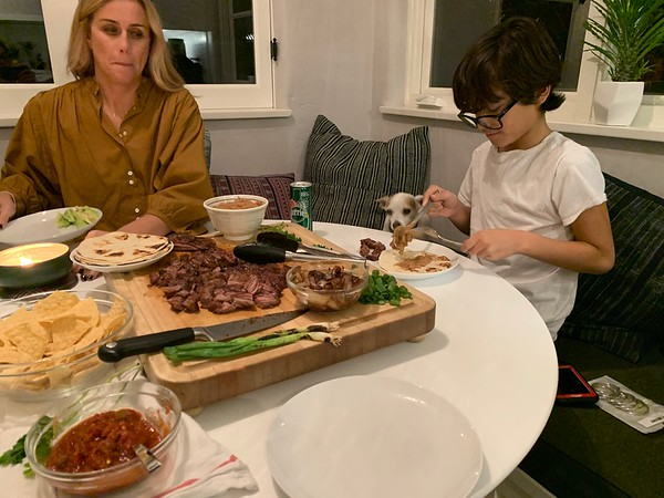 2019.12.08 Carne Asada dinner
