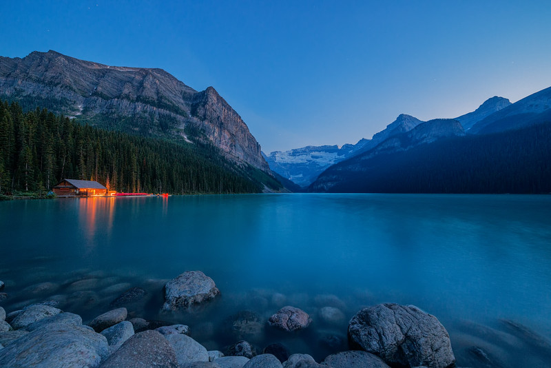 Lake Louise at Twilight
