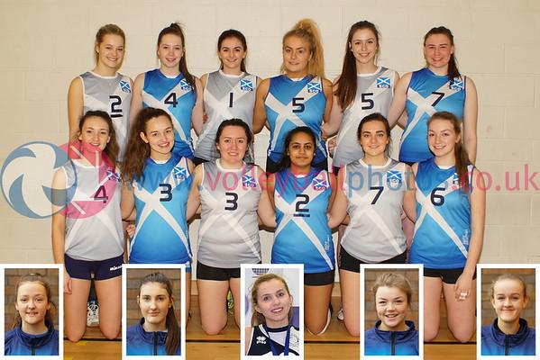 2016-02-28 U19 Women's Squad