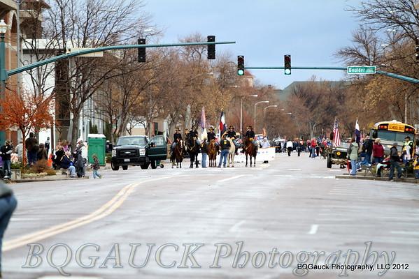Veterans Day Parade Colorado Springs 2012
