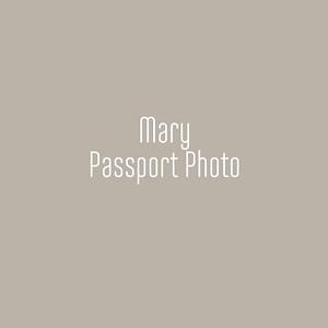 Mary Passport Photo