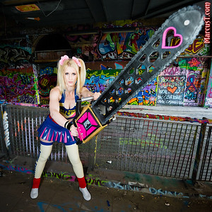 "20150801 - Ria Fend as ""Lollipop Chainsaw"""