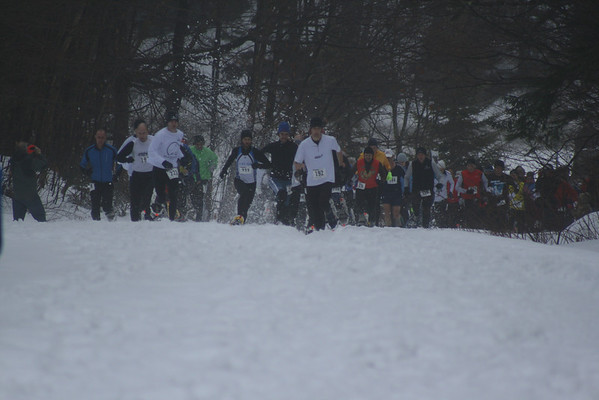 2009 I Love Woodford Snowshoe Race