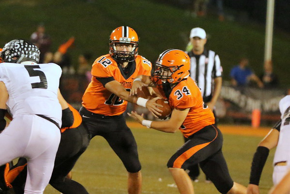 06c Football Pictures:  Oak Hill at Wheelersburg 2017:  THIRD Quarter