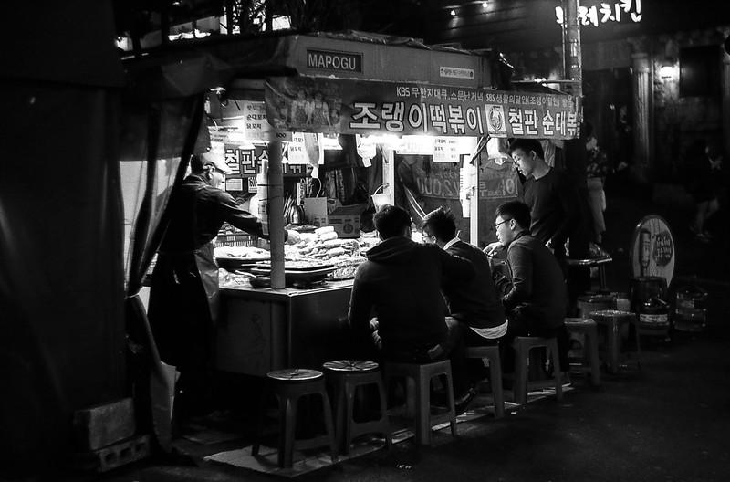 Hongdae, the university district in Seoul