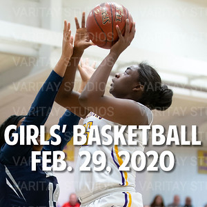Lutheran Girls Basketball, Feb. 29, 2020