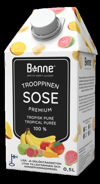 4500499   BONNE Premium Troopiliste viljade püree 0,5L