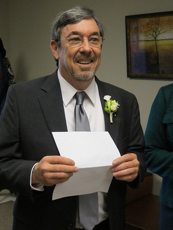 Mark and Patsy's Wedding 1-11-14