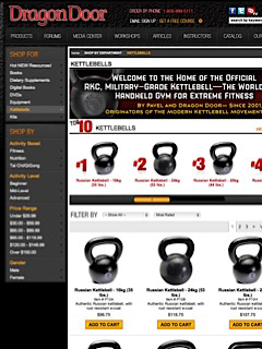 Dragon Door Kettlebells