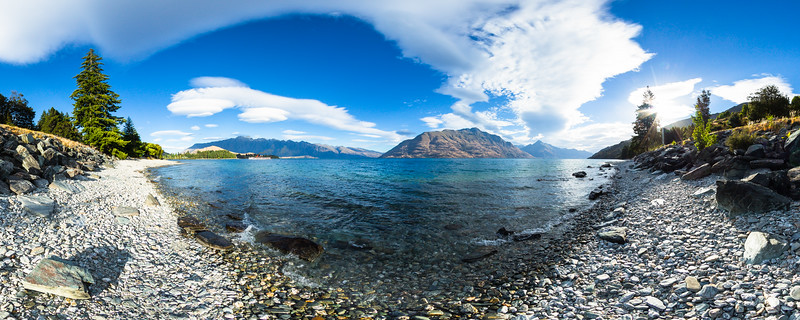 Lake Wakatipu & Cecil Peak - Queenstown Lakes District