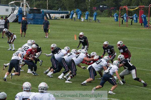 Patriots Training Camp Day 9