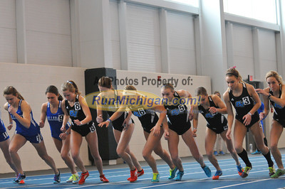 Women's Mile - 2014 GVSU 5-Way Indoor Meet