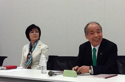 Suzuki Munio Press Conference - 28 March 2013