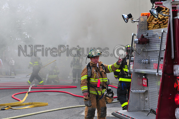 MONTGOMERY, NY WORKING FIRE 99 HAWKINS DR. 9/26/09