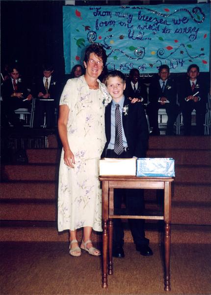 Chris - Elementary School Graduation