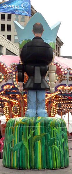 American Gothic Man (rear)