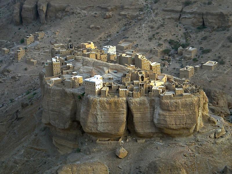 a disappearing village in Wadi Duwan in the Haudramaut area of Yemen