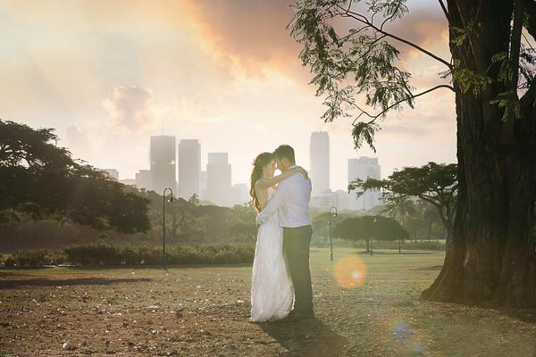 Melissa&Nicholas: New Farm Park Wedding