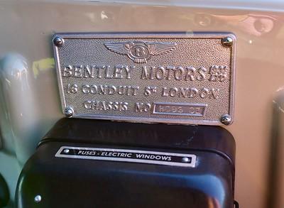 BC96CZ Bentley S2 Continental PArk Ward DHC