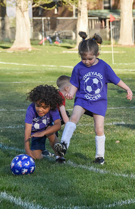 2021-04-29 Miila's Soccer Game