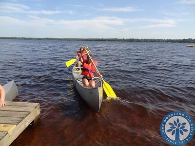 Canoe Class at Woodland