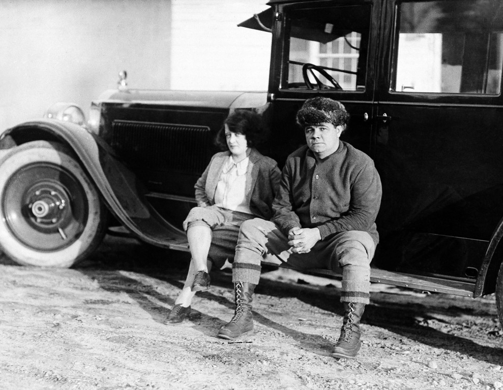 ". The Watertown, Mass., police said on January 13, 1929, that the body of a woman who was burned to death in a fire in that town on January 1, 1929  had been identified as that of Mrs. George Herman Ruth, wife Helen of ""Babe\"" Ruth the home-run king of baseball.  The slugger and his wife Helen on their farm at Sudbury, Mass. in an undated photo. (AP Photo)"