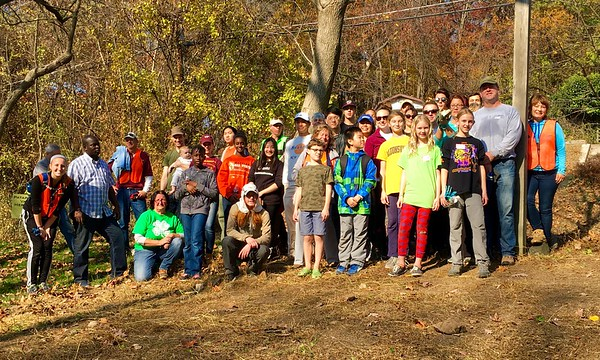 11.19.2016 Oella Cemetery Cleanup and Invasive Plant Removal near Cooper Run