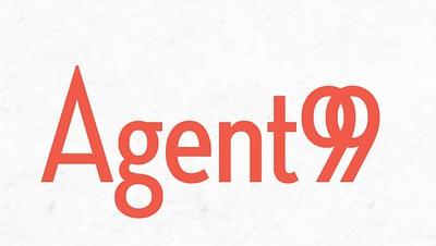 Agent99 PR orange logo