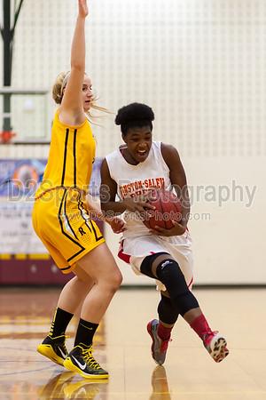 RJ Reynolds Demons  vs Winston-Salem Prep Phoenix Women's Varsity Basketball 12/19/2014