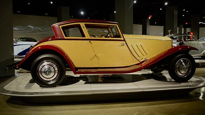 The Petersen Auto Museum - re-opened after remodel - 1/1/16