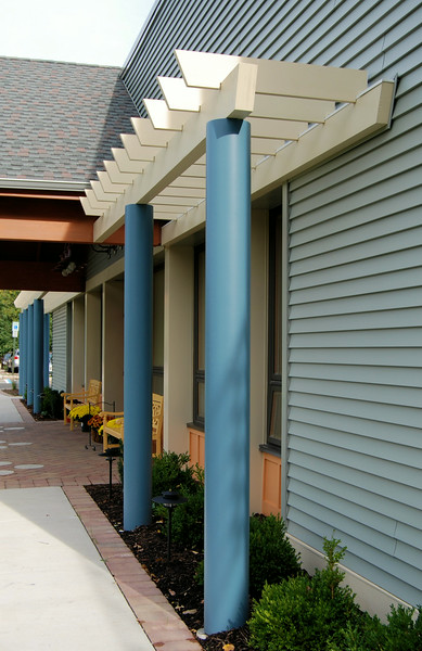 873 - 424499 - Cedar Knolls NJ - Daycare Entry Pergola - Side View