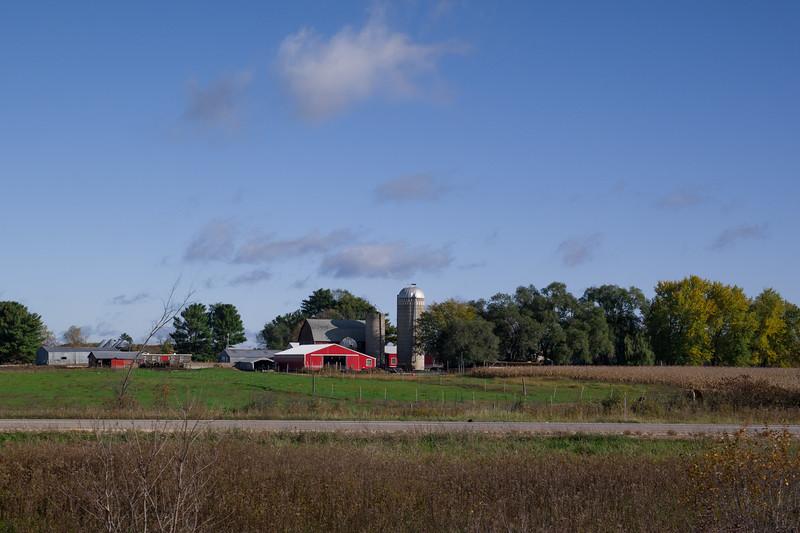Wisconsin Farm House