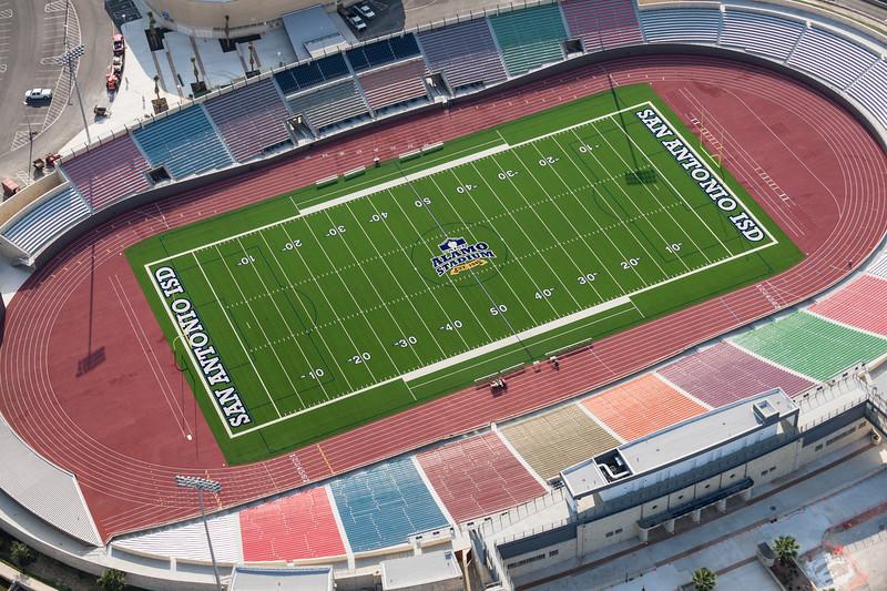 09/23/2014 093213 -- San Antonio, TX -- © Copyright 2014 Mark C. Greenberg  Alamo Stadium