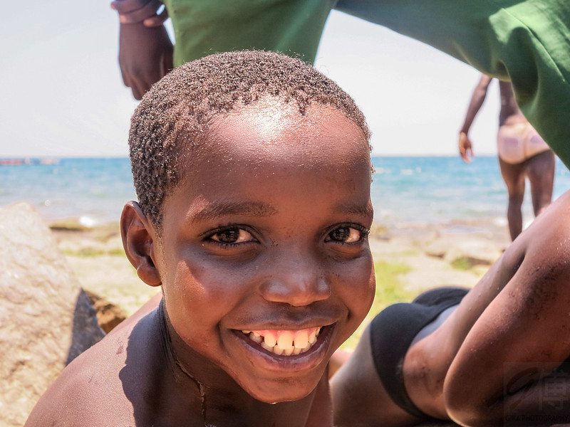 Boy at Metangula, Lake Niassa - Mozambique