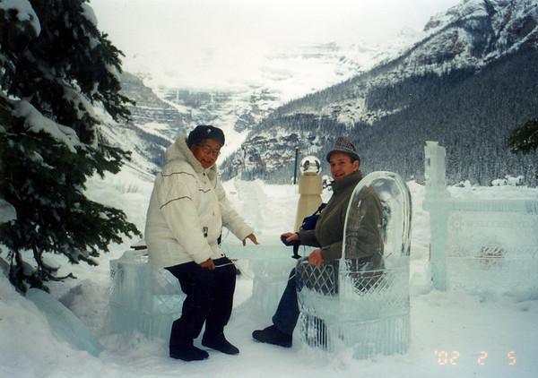 02-02-05 Diddo in Lake Louise