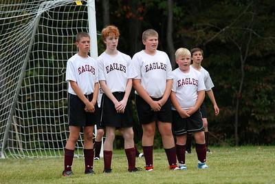 AMHS M.S. Boys Soccer vs Dorset photos by Gary Baker