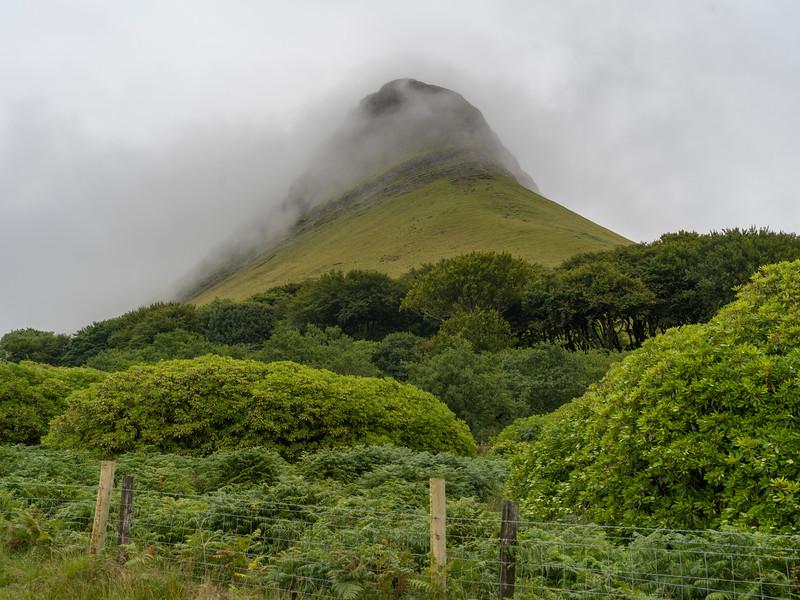 View of mountain top, Benbulbin, Grange, County Sligo, Ireland