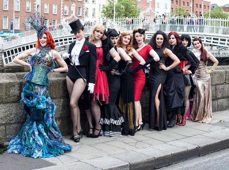 Miss Burlesque Ireland 2014 Promo Shoot