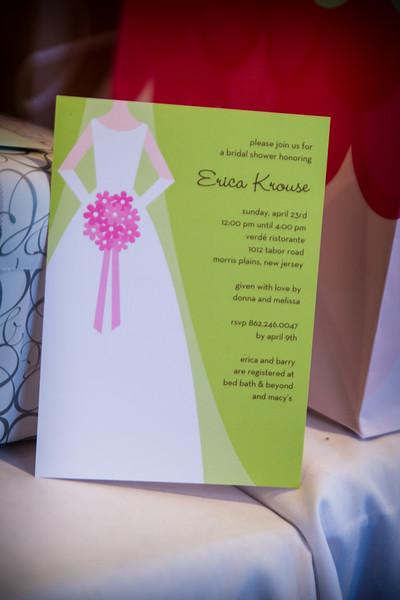 Bridal Shower for Erica