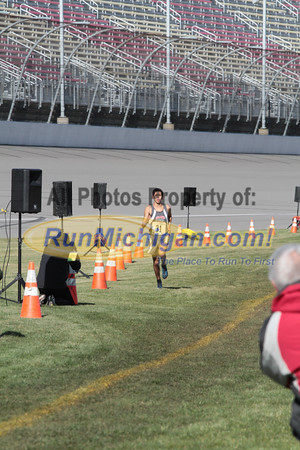 Finish Gallery 1, D1 Boys - 2014 MHSAA LP XC Finals