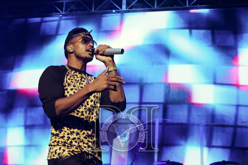 Wild Jam 2013 Nessa, Chris Brown, John Hart, Trey Songs Wild 949 407.jpg