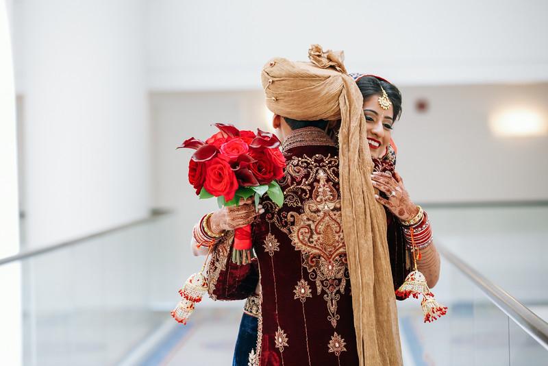 Le Cape Weddings - Indian Wedding - Day 4 - Megan and Karthik First Look 16.jpg