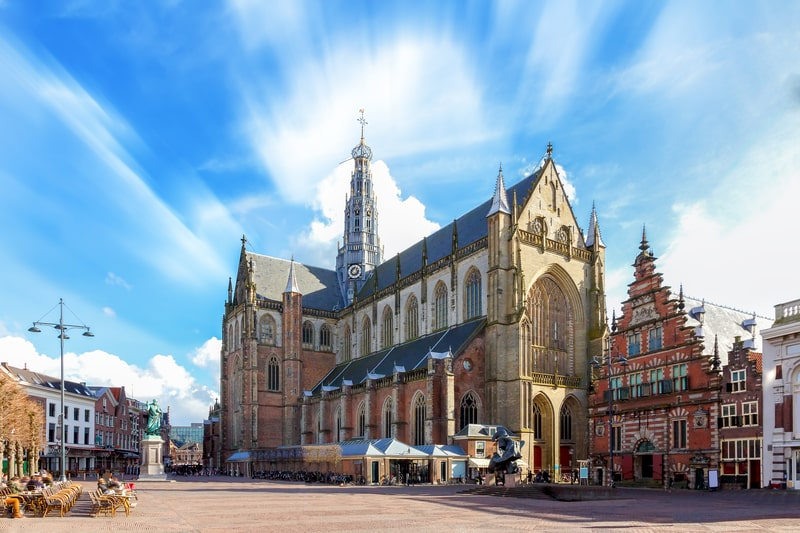 amsterdam trips - haarlem old town