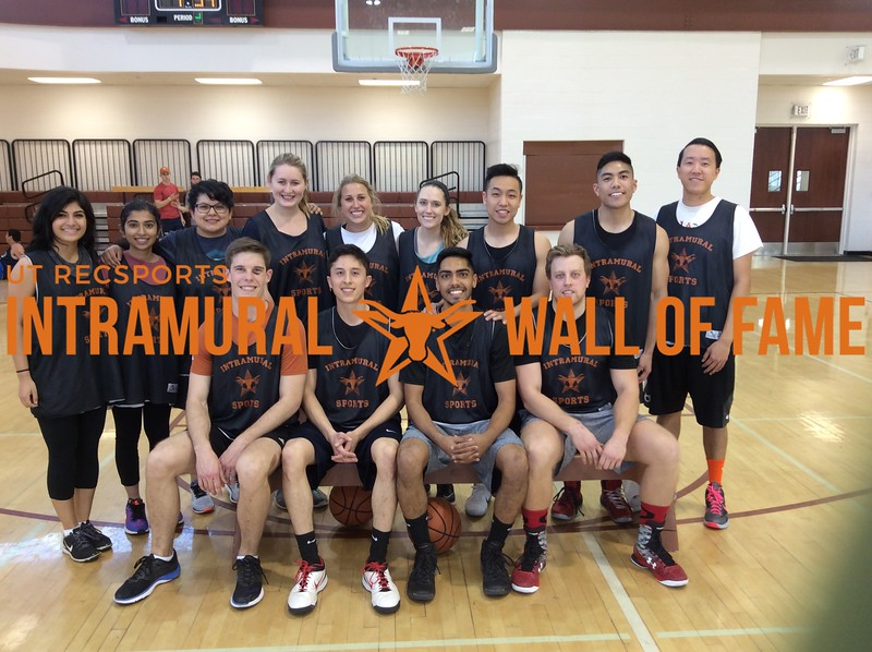 Spring 2017 Basketball Coed B Runner Up_Pharmacy Orange