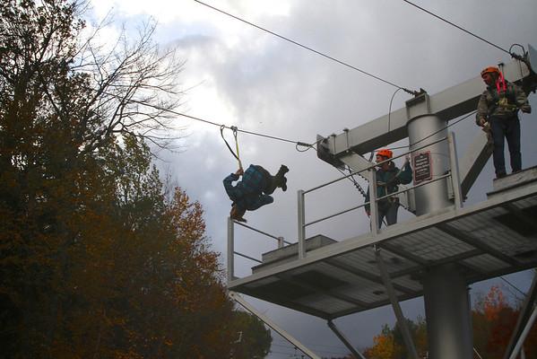 Zip Lining Oct 2012